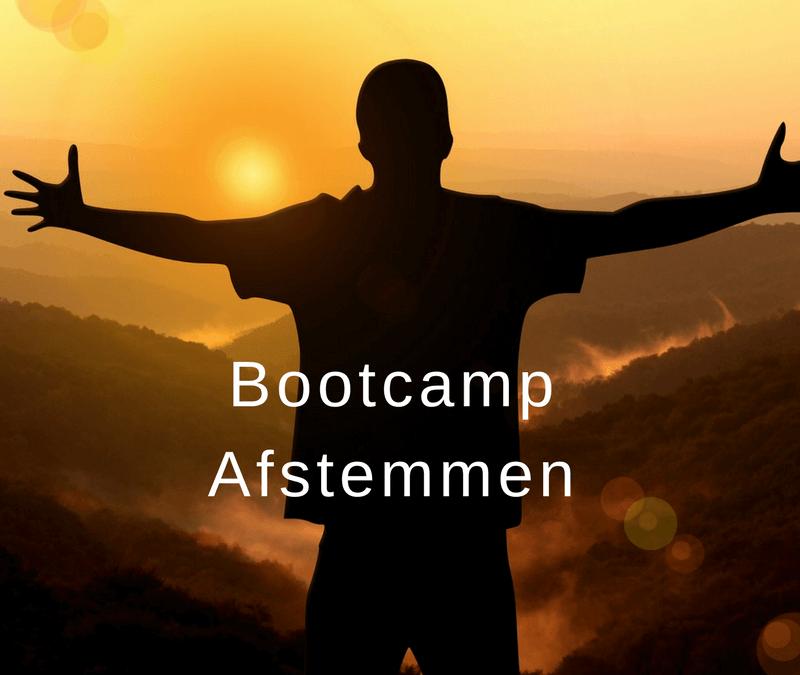 Bootcamp online afstemmen